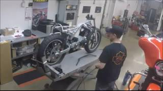 James building his BlastTracker for Flat out Friday