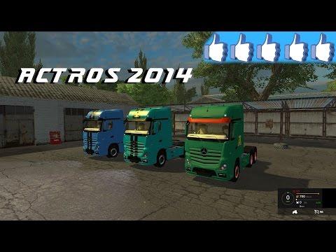Mercedes Actros 2014 v2.0