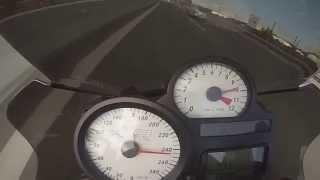9. BMW K1200R Top Speed 285km/h!!!