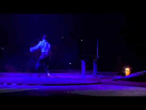 Circus Oz 2015 Behind the Inflatable Arch - Nathan Kell