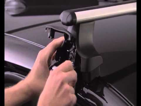 How to fit Thule 754 Fit Kit for Roof bars / Roof rack for Cars, 4x4 & MPV