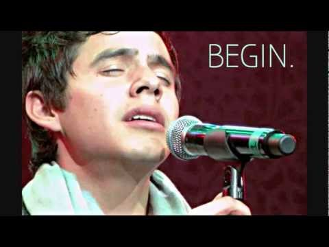 David Archuleta - BEAUTIFUL preview (new album BEGIN)