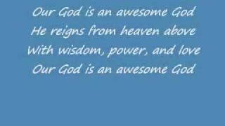 Awesome God  Rich Mullins w Lyrics