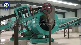 Organic fertilizer production equipment project youtube video