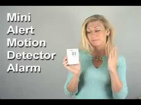 Mini Alert Motion Detector Alarm