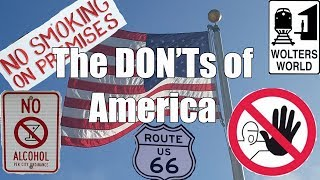 Video Visit America - The DON'Ts of Visiting The USA MP3, 3GP, MP4, WEBM, AVI, FLV Januari 2019
