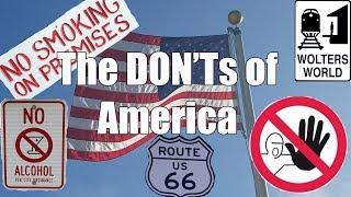Video Visit America - The DON'Ts of Visiting The USA MP3, 3GP, MP4, WEBM, AVI, FLV Juni 2019