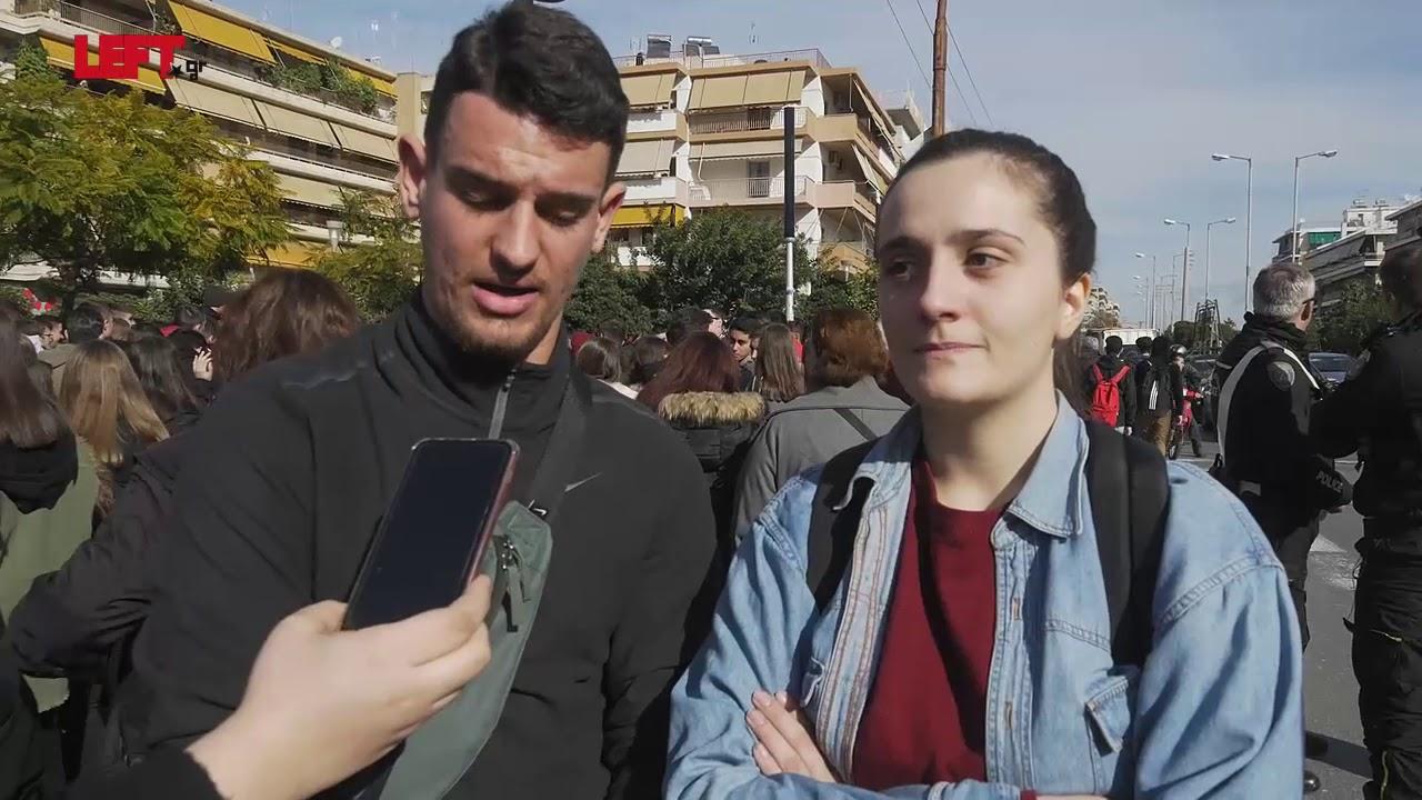 Κινητοποιήσεις μαθητών στο Γαλάτσι -Εκπρόσωποι Λυκείων