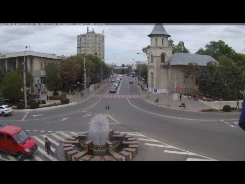 Live-Cam: Rumänien - Bârlad - Live Blick vom Rathaus