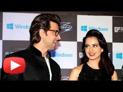 Hrithik Roshan & Kangana Ranaut On Secret Movie Da