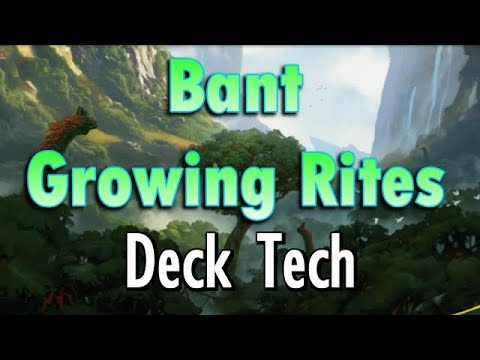 Mtg Deck Tech: Bant Growing Rites of Itlimoc in Ixalan Standard!