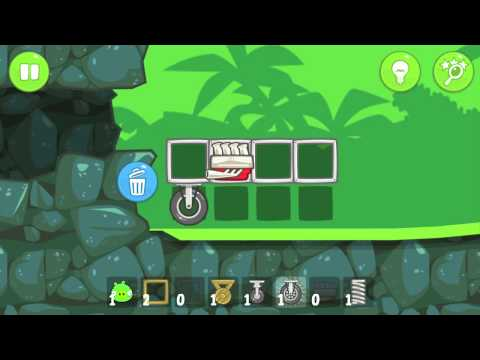 Let's Play Bad Piggies Part 8 - I DON'T KNOW HOW TO READ!!