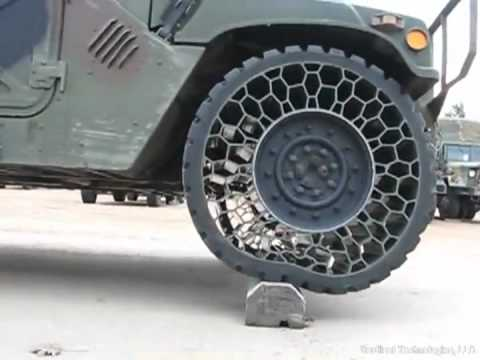 cool - No more flat tires? Sounds good to me See the tires being used on a Pick Up Truck here: http://www.youtube.com/watch?v=DppfBvvDXcQ&feature=plcp.