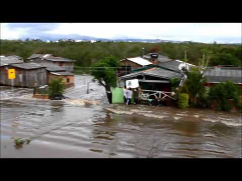 Comporta no Cais do Mauá é fechada e situação das cheias em Eldorado do Sul