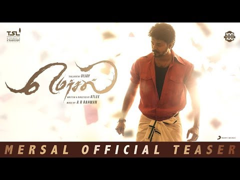 Vijay's Mersal Teaser Poster full Exclusive Video | Nithyamenon, Atlee