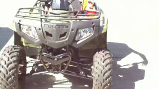 9. Polaris Sawtooth 200cc Quad