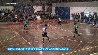 Reginópolis e Itatinga classificados para a próxima fase da Copa Record de Futsal