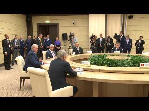 Președintele Igor Dodon a participat la summitul neformal al şefilor de state CSI