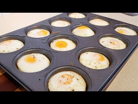 Handy Tip - How To Bake Eggs In The Oven. No Peeling!