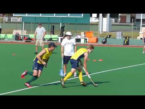 Australia Mens Hockey Team The Kookaburras Training Session