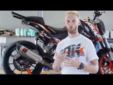 KTM 200 Duke stuntbike setup by Rok Bagoros