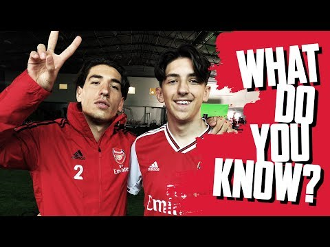 NAME ALL OF THE INVINCIBLES | Hector Bellerin v Junior Gunner Albie | What Do You Know?