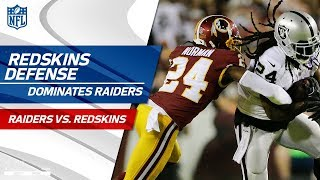 Washington's Defense Dominates Oakland | Raiders vs. Redskins | Wk 3 Player Highlights by NFL