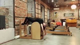 Ladder Barrel exercise pilates/ Olga Elanskaya instructor