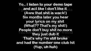 Eminem - I'm Shady Lyrics