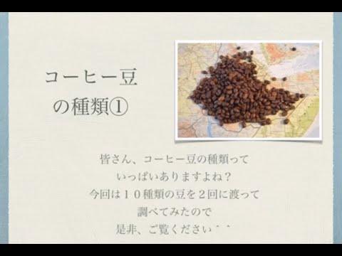 14 コーヒー豆の種類①