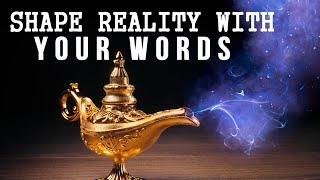 Video The MAGICAL POWER of WORDS to MANIFEST FASTER! (Law of Attraction) MP3, 3GP, MP4, WEBM, AVI, FLV November 2017