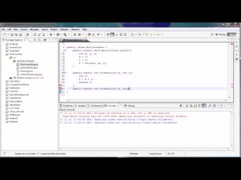 Java Tutorial 24 – Überladungen