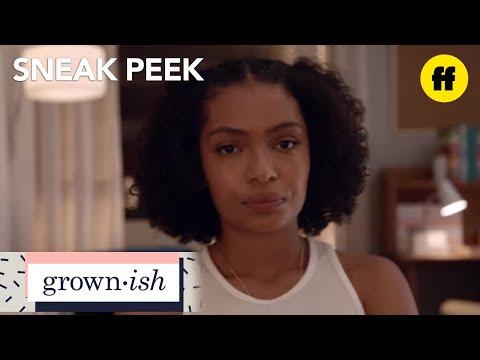 grown-ish | season 1, episode 1 sneak peek: just a shell of a man | freeform