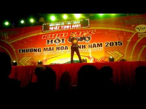 Dương Ngọc Thái tại hội chợ thương mại tp:hòa bình 4/2015