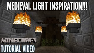Medieval Light Inspiration! - Castle or Creepy Alley? - Minecraft