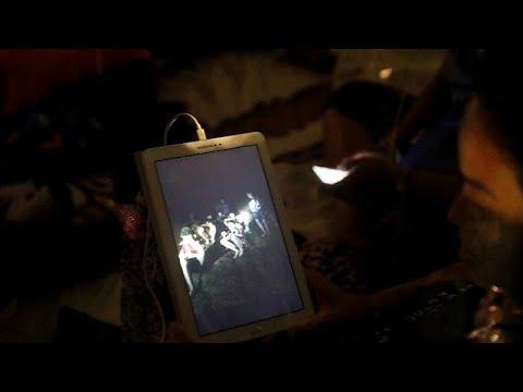 Ταϊλάνδη: Εντοπίστηκαν οι έφηβοι που είχαν εγκλωβιστεί σε σπηλιά …