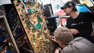 Modding 'The Getaway' Pinball Machine!