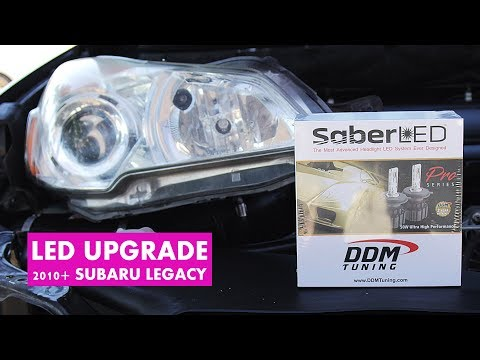 How to Change the Headlight Bulb Subaru Legacy & Outback (2015 2014 2013 2012 2011 2010)