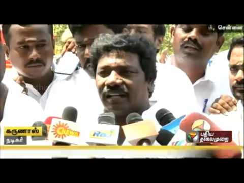 Actor-Karunas-announces-support-for-ADMK