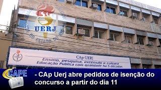 O Instituto de Aplicação Fernando Rodrigues da Silveira (CAp-Uerj) divulgou as normas do processo de isenção do pagamento...