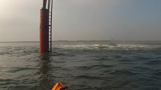 Hartlepool United Kingdom  City new picture : Kayak Fishing - Exploring the Outlet Pipe - North Gare, Hartlepool UK - GoPro