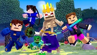 Minecraft - SÉRIE NOVA ! - MAGO ESQUELETO ! - AMIGOS Ep 1  ‹ LOKI ›