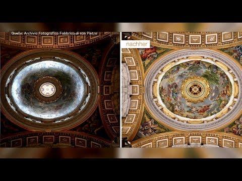 Petersdom: Nach 400 Jahren im Halbdunkel zeigt er sic ...