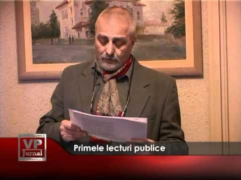Primele lecturi publice