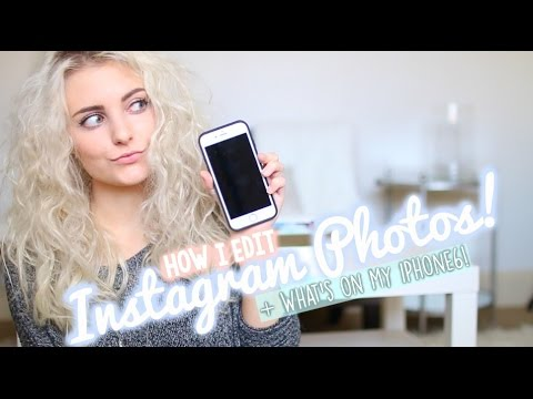photos - Today's video is all about what's on my iPhone and my favorite picture editing apps! Thumbs up if you enjoy! Vinted: http://bit.ly/HB-Vinted Make sure to follow me @AspynOvard to see when...