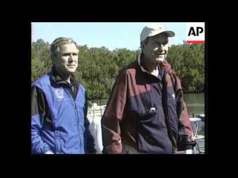 USA: PRESIDENT ELECT GEORGE W BUSH