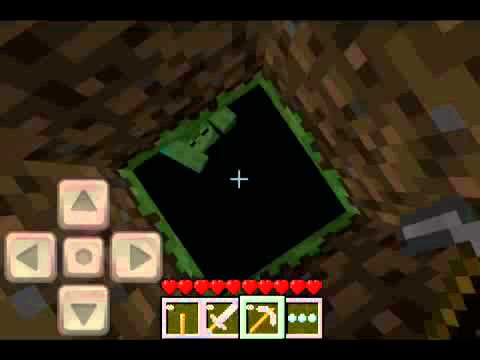 Herobrine in Minecraft pocket edition part 3