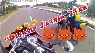 Video Disalip Satria 2 Tak!!! #sukabumi - motovlog MP3, 3GP, MP4, WEBM, AVI, FLV Maret 2019