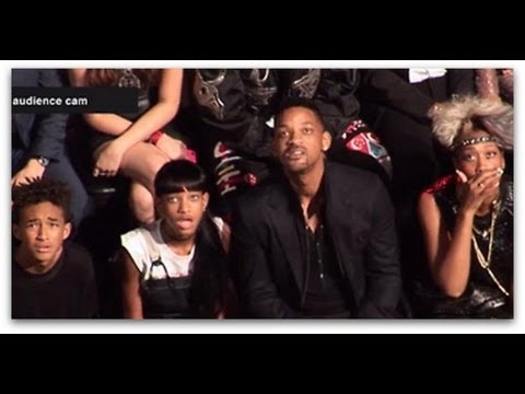 Will Smith and Family React to Miley Cyrus Twerking VMA 2013 HD