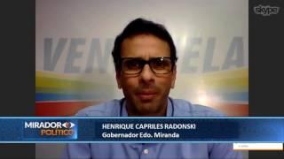 Entrevista a @HCapriles - Mirador Político 25-07-2017 Seg. 01